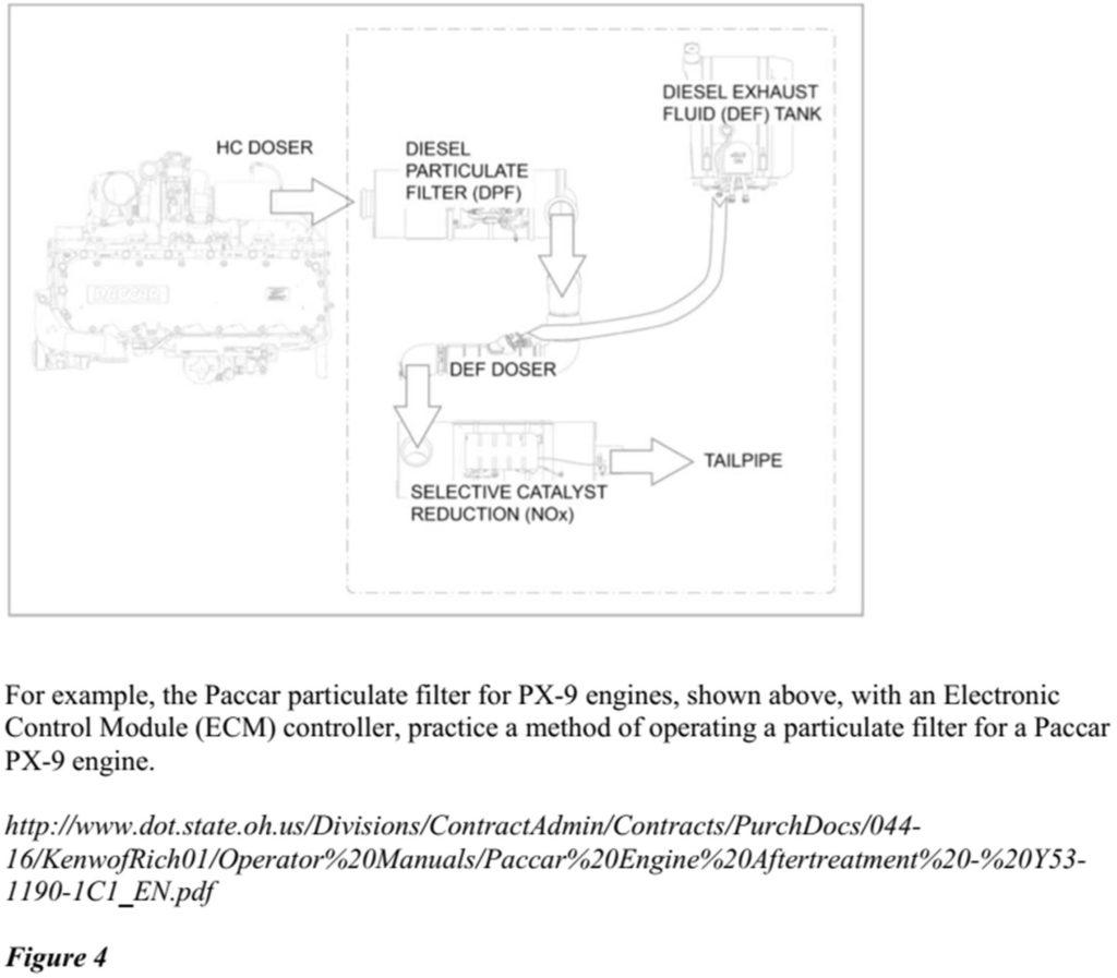 Peterbilt Kenworth On The Receiving End Of Diesel Patent Paccar Engine Diagrams Exhaust